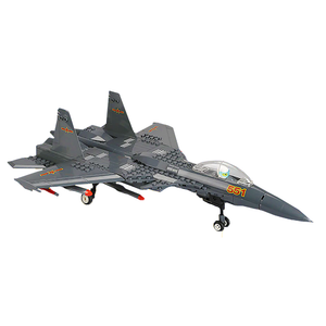 J15 Fighter Jet |  3d puzzle | nano blocks | brickcenter.myshopify.com