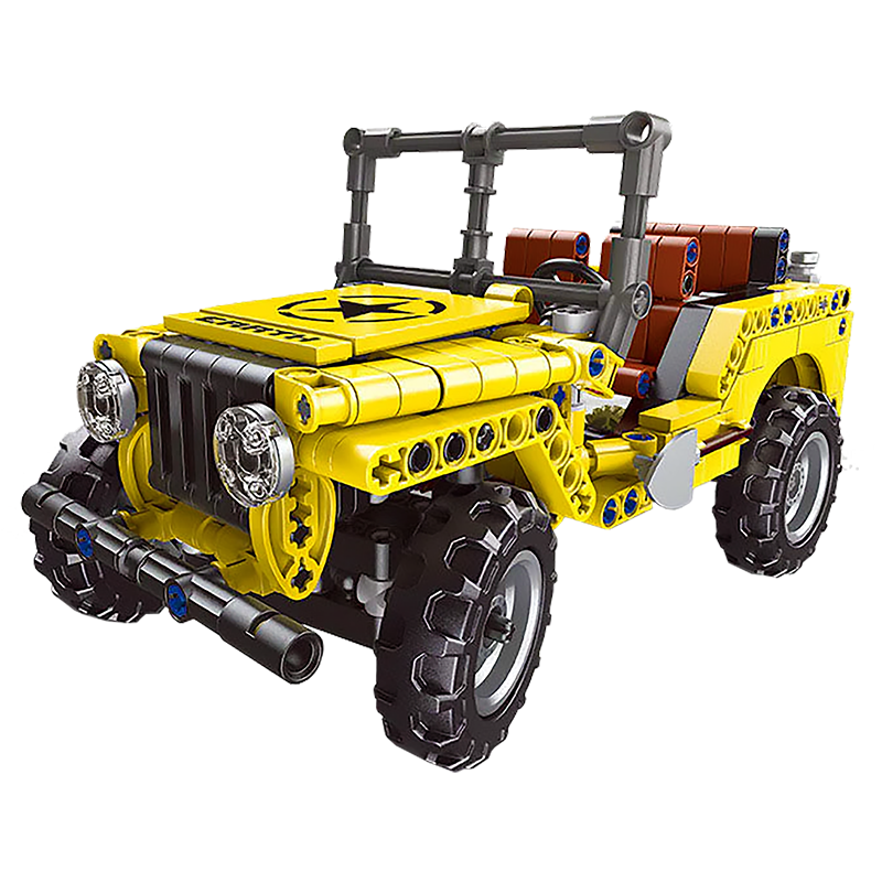 Off Road Jeep |  3d puzzle | nano blocks | brickcenter.myshopify.com