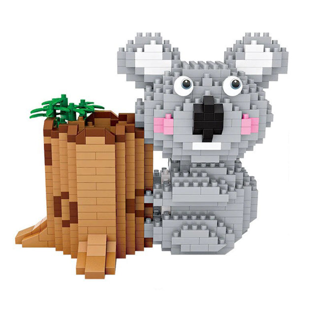 Koala Pen Holder |  3d puzzle | nano blocks | brickcenter.myshopify.com