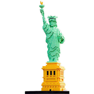 Statue of Liberty - Nano Blocks Set |  3d puzzle | nano blocks | brickcenter.myshopify.com