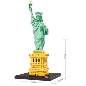 Statue of Liberty |  3d puzzle | nano blocks