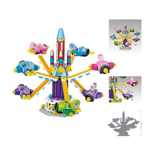 Airplanes Amusement Park |  3d puzzle | nano blocks