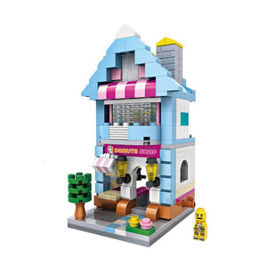 Mini Building - Donut Shop (346 pcs) |  3d puzzle | nano blocks