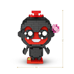 Monkey sign |  3d puzzle | nano blocks