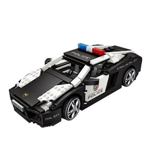 Police Car |  3d puzzle | nano blocks | brickcenter.myshopify.com