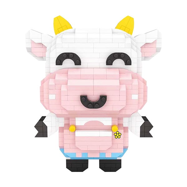 Little Mister Cow |  3d puzzle | nano blocks | brickcenter.myshopify.com