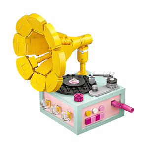 Phonograph |  3d puzzle | nano blocks | brickcenter.myshopify.com