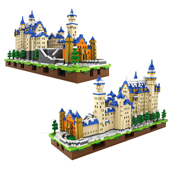 Germany New Swanstone Castle |  3d puzzle | nano blocks | brickcenter.myshopify.com