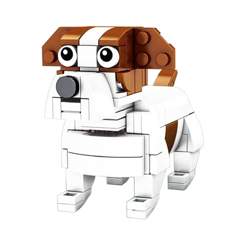 Little Parsonsell Terrier |  3d puzzle | nano blocks | brickcenter.myshopify.com