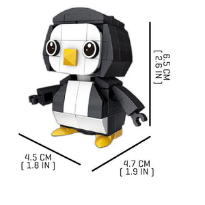 Tiny-Penguin |  3d puzzle | nano blocks | brickcenter.myshopify.com