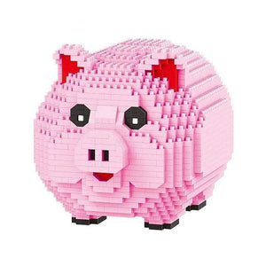 Piggy Bank |  3d puzzle | nano blocks | brickcenter.myshopify.com