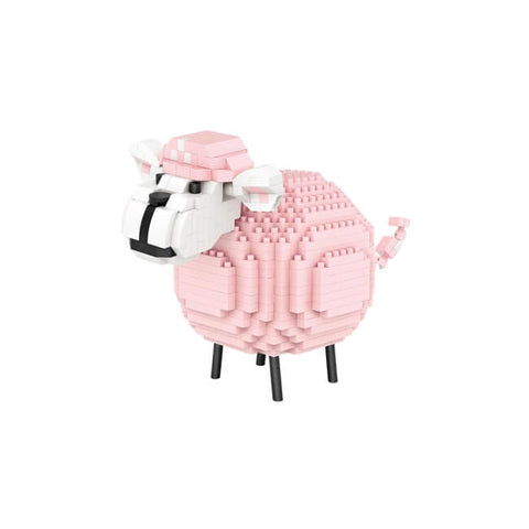 Pink Sheep |  3d puzzle | nano blocks | brickcenter.myshopify.com
