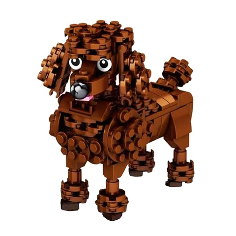 Little Choco Poodle |  3d puzzle | nano blocks | brickcenter.myshopify.com