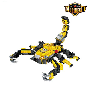 Scorpion Robot |  3d puzzle | nano blocks