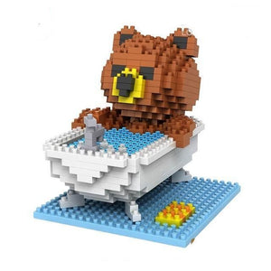 Bear in a hot-tub |  BrickCenter