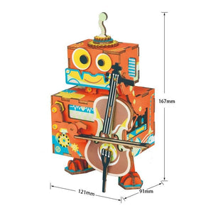 Little Robot Performer Music Box