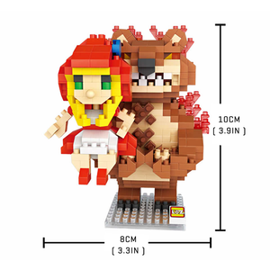 MMORP Red Riding Hood |  3d puzzle | nano blocks | brickcenter.myshopify.com
