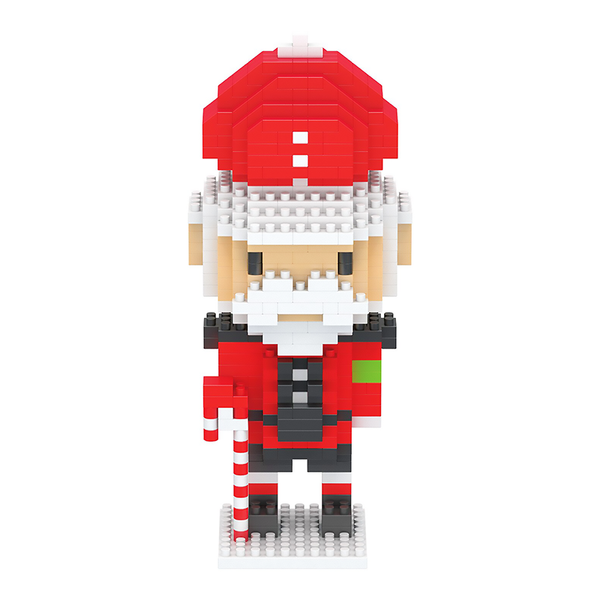Little Santa Nutcracker |  3d puzzle | nano blocks | brickcenter.myshopify.com