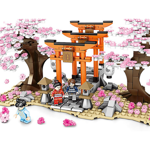 Sakura Shrine |  3d puzzle | nano blocks