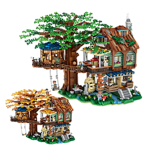 2 in 1 Spring and Autumn Tree House |  3d puzzle | nano blocks | brickcenter.myshopify.com