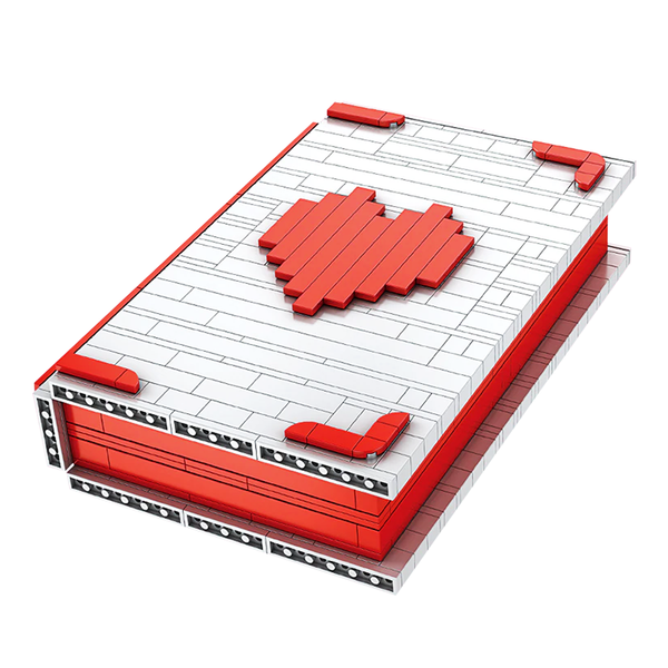 Valentine Proposal Book |  3d puzzle | nano blocks | brickcenter.myshopify.com