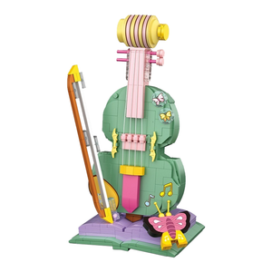 Magical Violin |  3d puzzle | nano blocks | brickcenter.myshopify.com