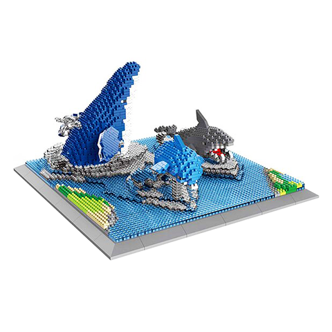 Wild Ocean Animals Set |  3d puzzle | nano blocks | brickcenter.myshopify.com