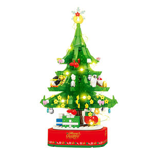 Musical Lighting & Rotating Christmas Tree