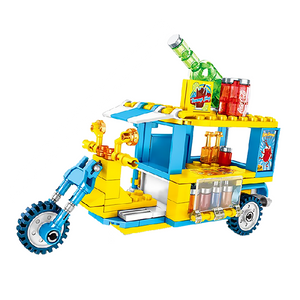 Thirst Quenching Truck |  3d puzzle | nano blocks | brickcenter.myshopify.com