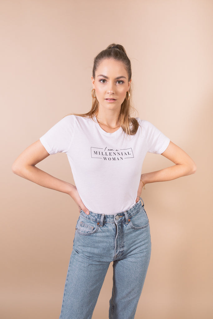 I am a Millennial Woman Tee