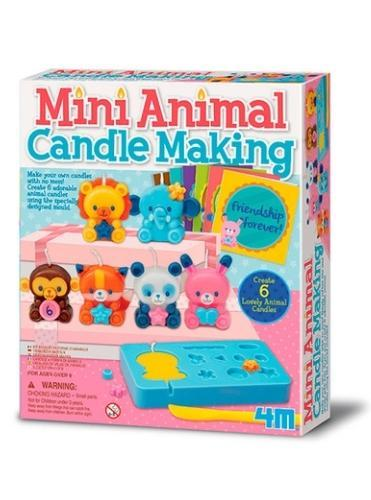 Mini Animal Candle Making Kit - Little Fenix Australia