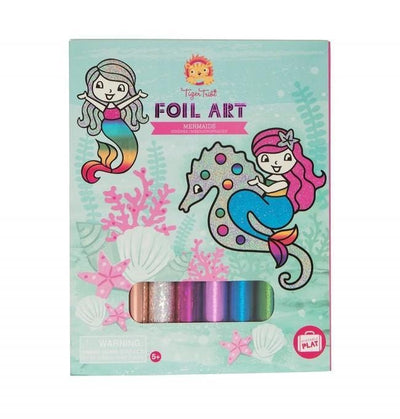 Foil Art - Mermaids - Little Fenix Australia