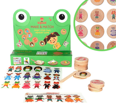 Make And Match Memory Game - Little Fenix Australia