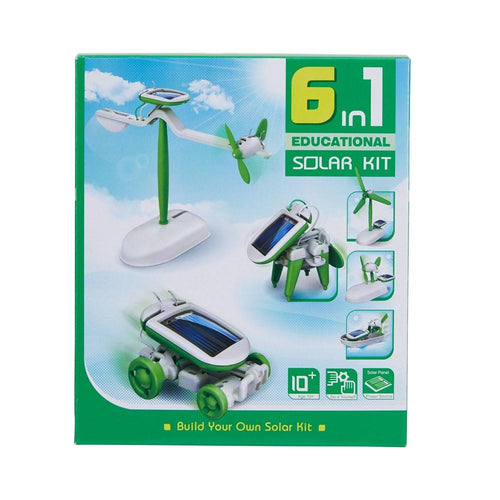 6 In 1 Educational Solar Kit - Little Fenix Australia