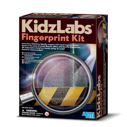 KidzLabs Detective Fingerprint Kit - Little Fenix Australia