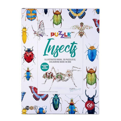 Puzzle Book - Insects - Little Fenix Australia