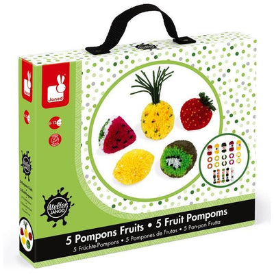 Fruit PomPoms - Little Fenix Australia
