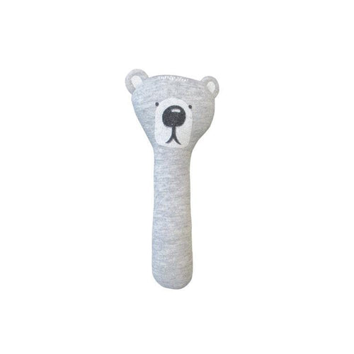 Hand Held Rattle - Bear - Little Fenix Australia
