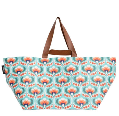 Poly Beach Bag - Society of Wanderers Maude Floral - Little Fenix Australia