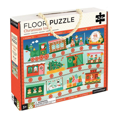 Christmas Train Floor Puzzle - Little Fenix Australia