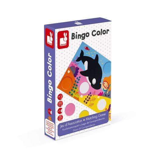 Bingo Colour Game - Little Fenix Australia