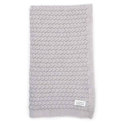 Ruby Crochet Textured Stitch Blanket - Latte - Little Fenix Australia