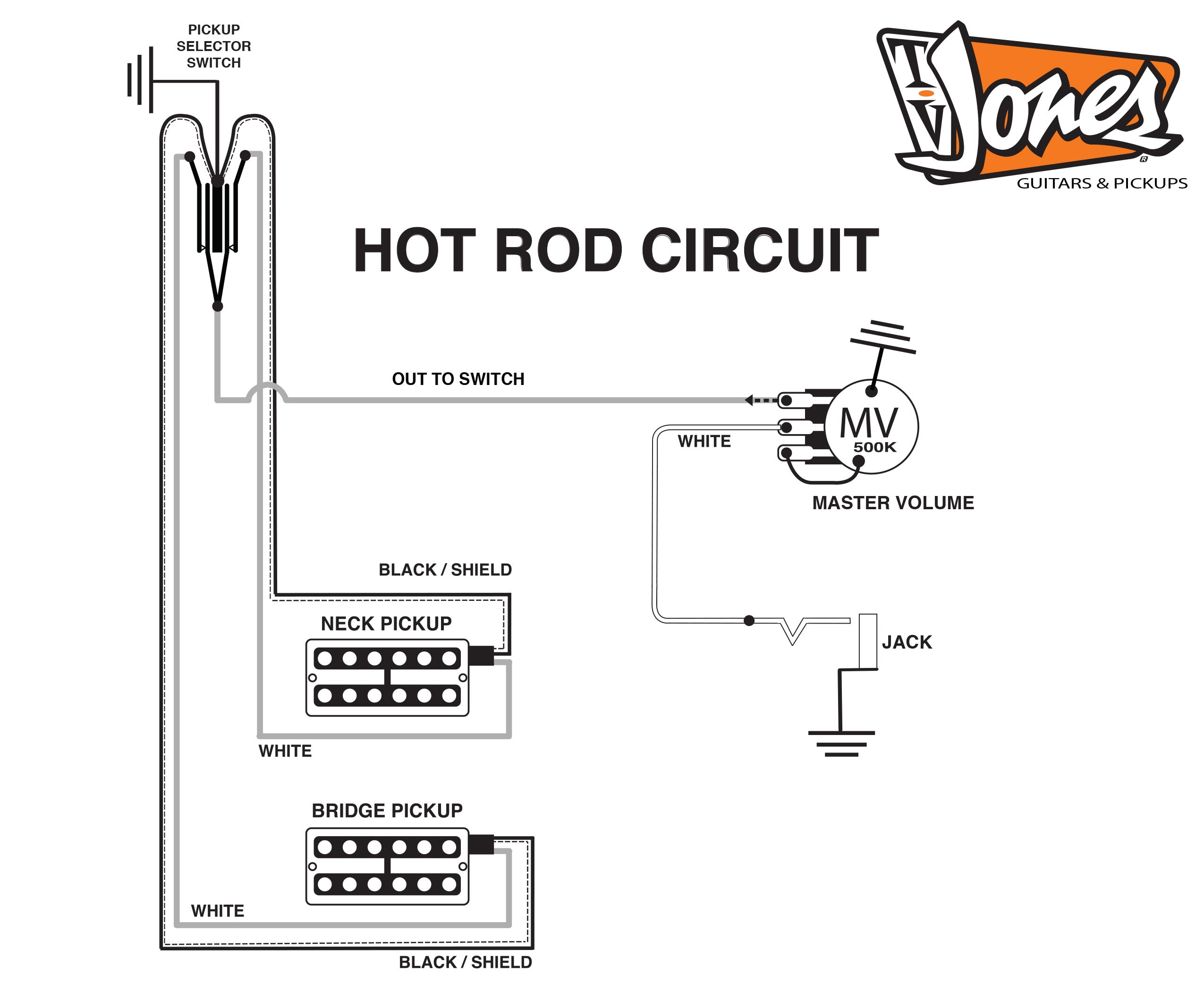 Mud Switch Broke  Convert To Hot Rod Wiring    The Workbench   The Gretsch Pages