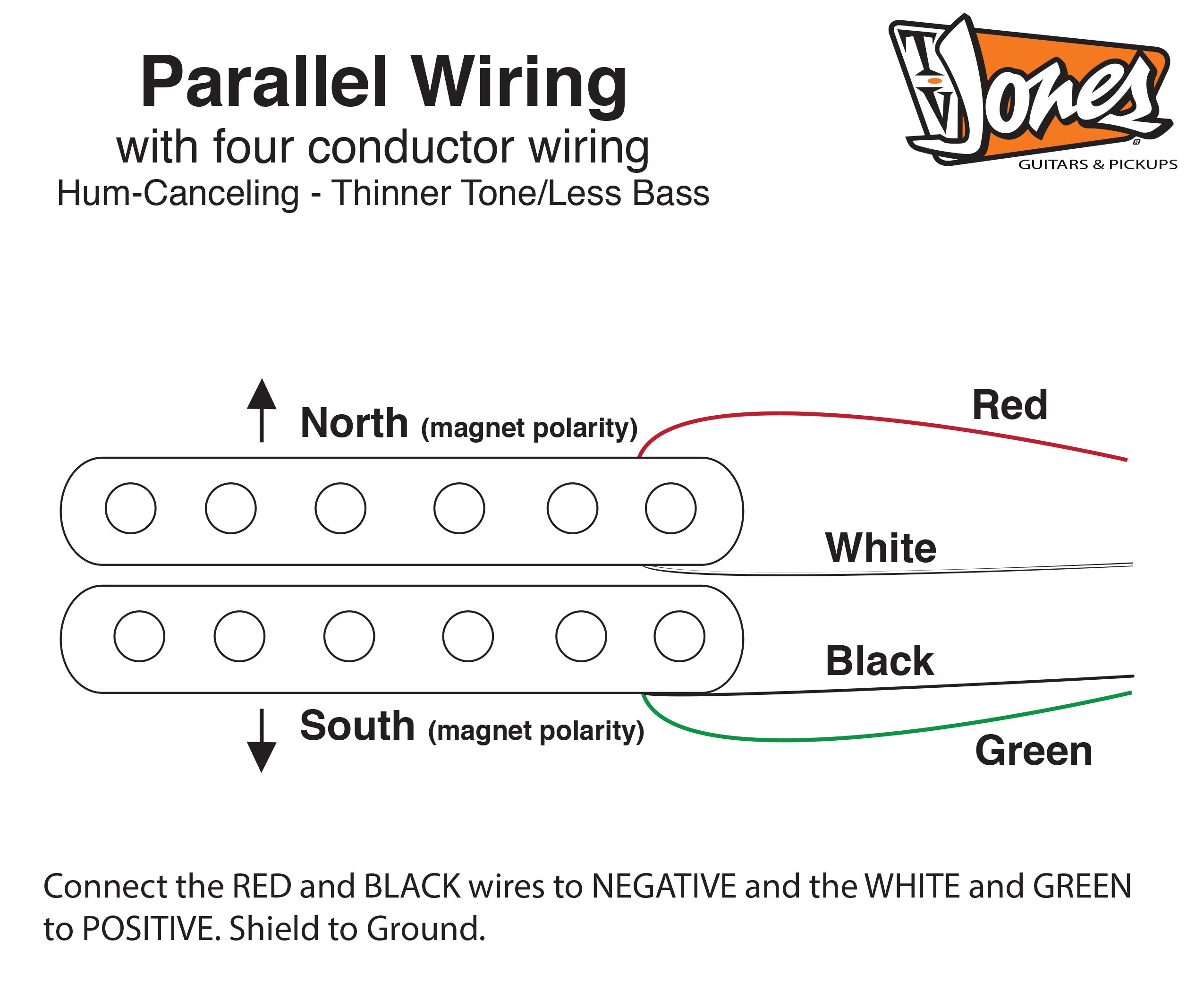 Tv Jones Product Dimensions 4 Wire Wiring Diagram Gibson Les Paul Pickups Pickup
