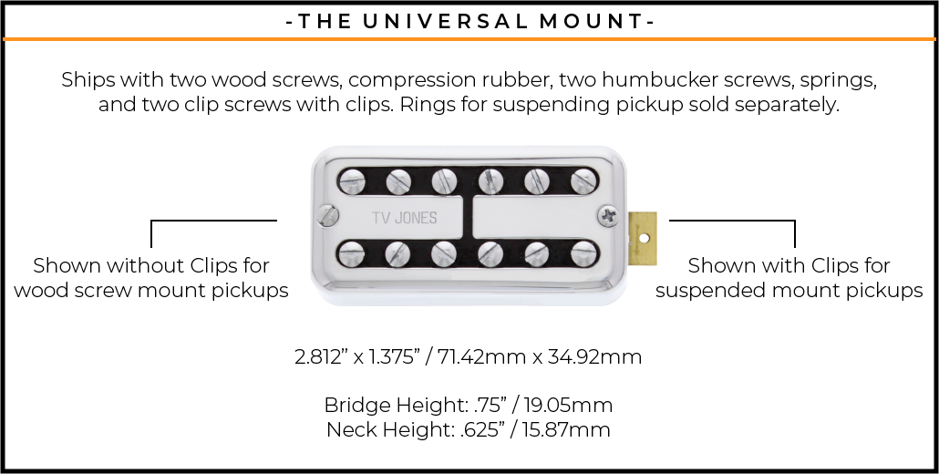 uv mount dimensions
