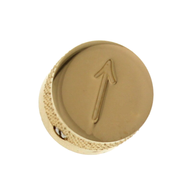 Gretsch Arrow Control Knob - Gold