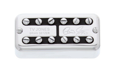 Brian Setzer Signature Pickup - Universal Mount - Chrome