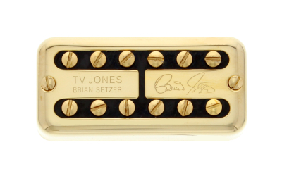 Brian Setzer Signature Neck Pickup - Universal Mount - Gold