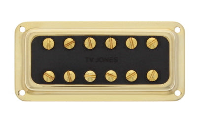 Power'Tron Plus Bridge DeArmond Mount - Gold