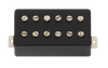 Power'Tron Plus Bridge Humbucker Mount - Black Plastic/Nickel
